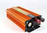 Автомобильный преобразователь напряжения инвертор UKC с 24V на 220 AC/DC 1000W SSK 1000Вт, фото 5