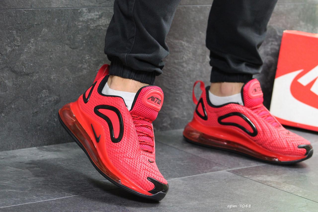 Мужские кроссовки Nike Air Max 270 красные ( Реплика ААА+) - bonny-style 8b0c0d88c517f