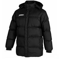 Куртка зимняя удлиненная черная Joma ALASKA II 101138.100
