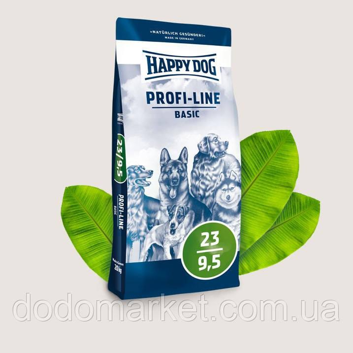Сухой корм для собак Happy Dog Profi-Line Basic 20 кг