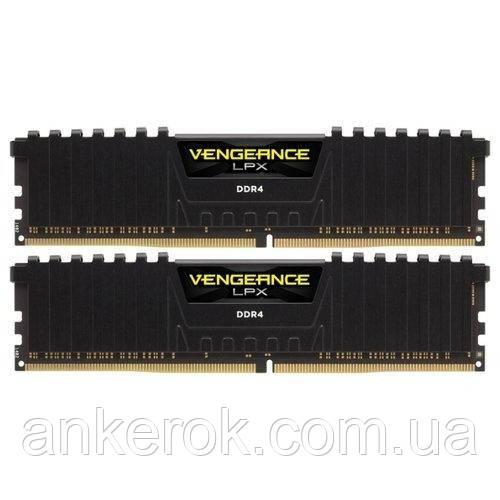 Оперативная память Corsair 16 GB (2x8GB) DDR4 3000 MHz (CMK16GX4M2B3000C15)