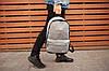 """Рюкзак в стиле Nike """"Gray"""", фото 4"""