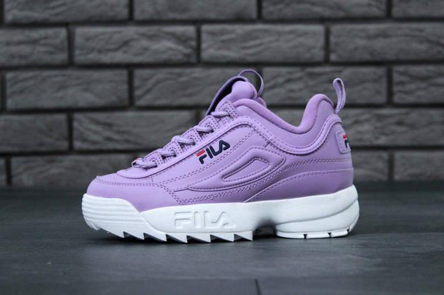 Кроссовки Fila Disruptor 2 x Purple White  продажа cbca330a0485d