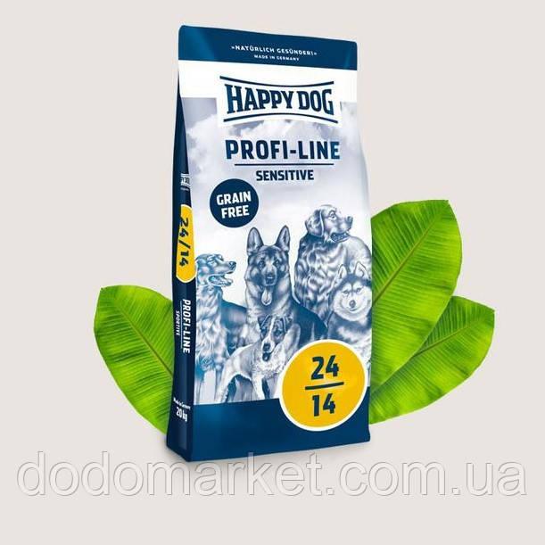 Сухой корм для собак с чувствительным пищеварением Happy Dog Profi-Line Sensitive 20 кг