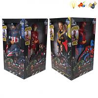 Набор супергероев Avengers Мстители 4 шт в комплекте PP1021, фото 1