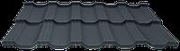 Модульна черепиця EGERIA SSAB 35/350 Mat 23 крупнозернистий темний графіт