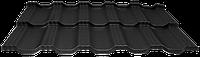 Модульна черепиця EGERIA SSAB 35/350 Mat 33 крупнозернистий чорний
