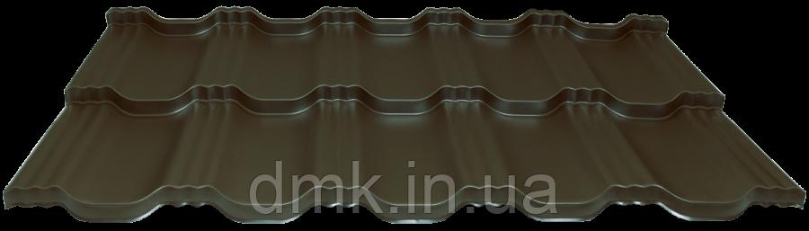 Модульна черепиця EGERIA SSAB 35/350 Purex 887 шоколад