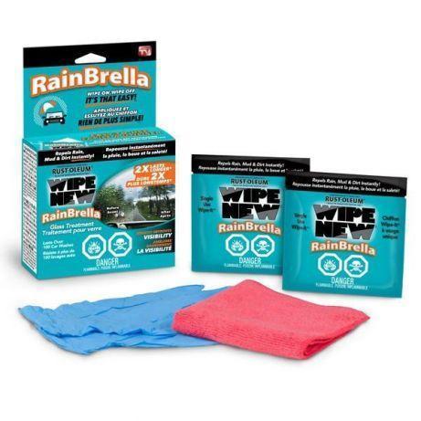Рідина для захисту скла від води і бруду Антидощ Rain Brella, засіб антигрязь для лобового скла
