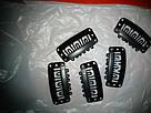 Клипсы Lady Victory черная металлические для наращивания волос на трессах, крепления прядей, фото 8