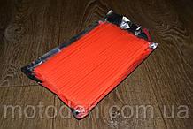 Накладки на спицы для мотоцикла / велосипеда 72шт (для переднего и заднего колеса) 24см Оранжевые