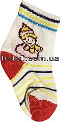 Шкарпетки літні легкі тонкі розмір 0 (0-2 міс.) трикотаж білий на хлопчика/дівчинку для новонароджених ТН-151К