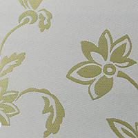Готовые рулонные шторы Ткань Флаверс Салатовый