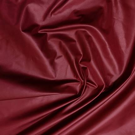 Плащевая ткань лаке бордовая, фото 2