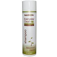 """Шампунь для волос NutriBiotic """"Everyday Clean Shampoo"""" на растительной основе (296 мл)"""