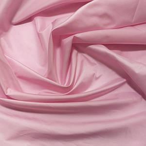 Плащевая ткань лаке розовая