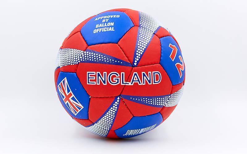 Мяч футбольный №5 Гриппи 5 слоев ENGLAND FB-0047-755
