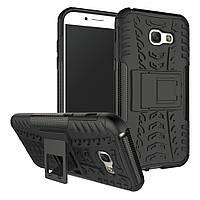 Чехол Armor Case для Samsung A520 Galaxy A5 2017 Черный
