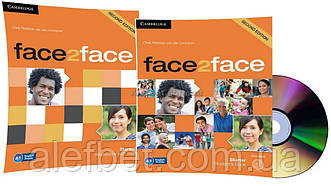 Английский язык / Face2face / Student's+DVD+Workbook. Учебник+Тетрадь (комплект), Starter / Cambridge