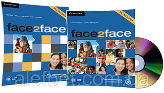 Английский язык / Face2face / Student's+DVD+Workbook. Учебник+Тетрадь (комплект), Pre-Intermediate / Cambridge