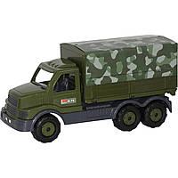 Автомобиль бортовой военный с тентом Полесье Сталкер 49193