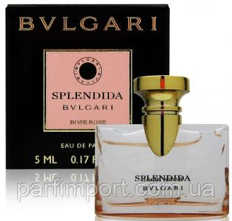 Bvlgari Splendida Rose Rose  edp 5 ml  (оригинал подлинник  Италия)