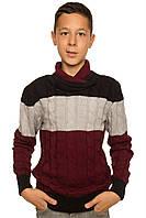 Вязаный свитер для мальчика 128-152 р