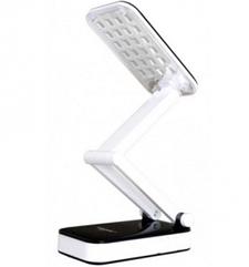 Настольная светодиодная лампа трансформер Tiross TS-55 Black аккумуляторная 800 mAh, 220v, 24 smd LED