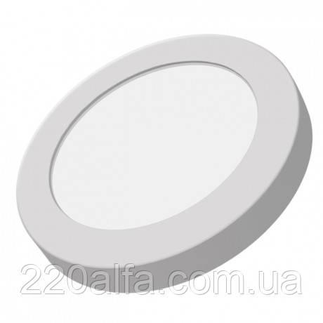 Светильник Светодиодный 4000k, 6 Вт (круглый наружный)