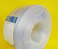 """Шланг пищевой ,диаметр 12 мм ,стенка 1.5 мм, 100 метров ,ПВХ ,прозрачный """"Crystal-Symmer"""" (Украина), фото 1"""