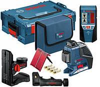 Лазерный нивелир Bosch GLL 3-80 P + держатель BM1 + приемник LR2 (L-boxx)