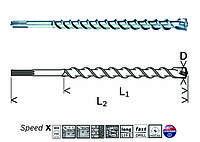 Сверло по бетону Bosch SDS-max Speed X 40/600/720 мм