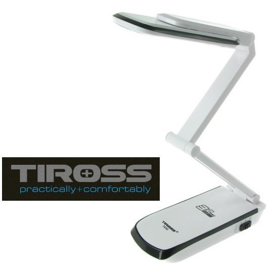 Настольная светодиодная лампа трансформер Tiross TS-56 Black аккумуляторная 2000 mAh, 220v, 32 smd LED