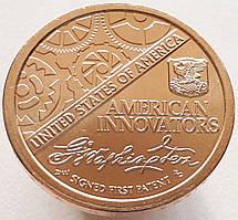 США 1 доллар 2018 - Американские Инновации