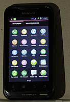 Lenovo A660 – защищенный водонепроницаемый смартфон на 2-е сим карты