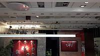 Алюминиевый профиль для светодиодной ленты 35х67мм c диффузором, фото 1