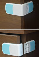 Угловой замок - две кнопки