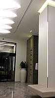 Алюминиевый профиль под шпатлевку  наружный угол 13mm c диффузором  alum/opal, фото 1