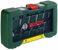 Фрезы по дереву наборы, Bosch 12 шт