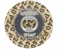 Круги шлифовальные абразивные Dremel (SC413) 30 мм / K240