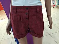 Женские шорты лен, свободные. Отменное качество!