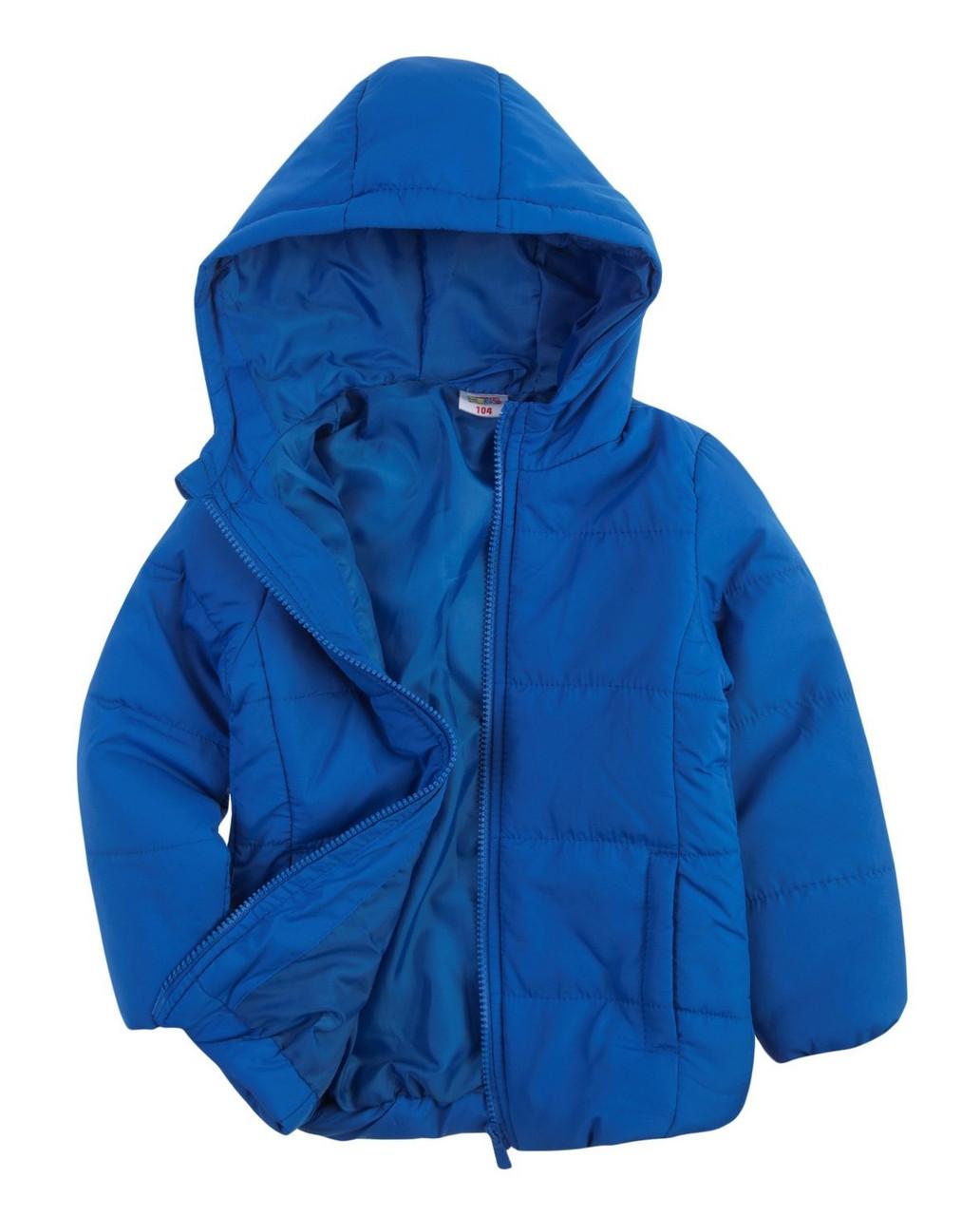Детская синяя куртка для мальчика Польша Размер 104