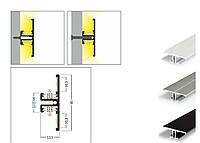 Алюминиевый профиль для светодиодной ленты 14х40, фото 1