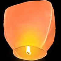 Небесный фонарик купол оранжевый