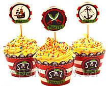 Топперы для кексов Пираты 240218-002