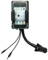 Подставка с адаптером для моб. телефона с пультом iPhohe с адаптером от прикуривателя