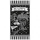 Баннер на дверь HB (черно-белый) 1505-3166