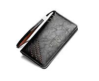 Мужское портмоне Baellerry Leather Черный (SUN0060)