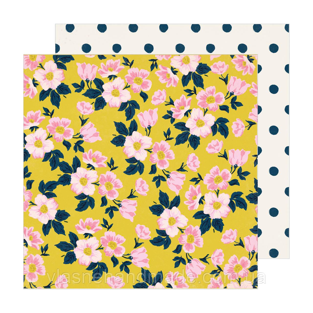Папір двосторонній - Apple Blossom - Sunny Days - Maggie Holmes - 30x30