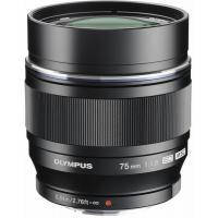 Объектив OLYMPUS ET-M7518 75mm 1:1.8 Black (V311040BE000)